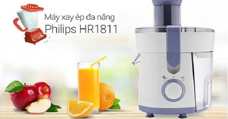 Máy ép đa năng Philips HR1811-71